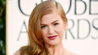 Isla Fisher Makes Raunchy Joke About Giving Birth to Huge Baby at Golden Globes