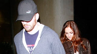 Chris Evans and Minka Kelly Hold Hands in West Hollywood: Picture