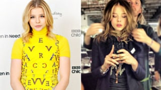 Chloe Moretz Goes Brunette, Shows Off Darker Hair in New Picture