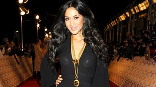 Nicole Scherzinger Accidentally Exposes Nipple Covers in Sheer Dress