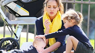 Jessica Alba's Daughter Honor Loves Showing Off in Front of Baby Sister Haven