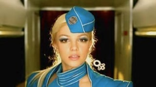 Britney Spears' Toxic Video Cap Compared to Russell Crowe's Les Miserables Hat