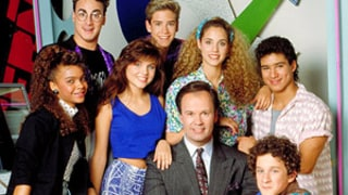 Tiffani Thiessen Awkwardly Reunites With Dennis Haskins, Saved by the Bell's Mr. Belding