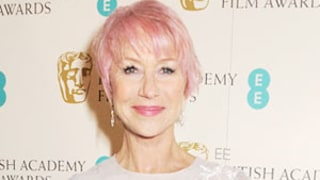 Helen Mirren, 67, Dyes Her Hair Bubblegum Pink!