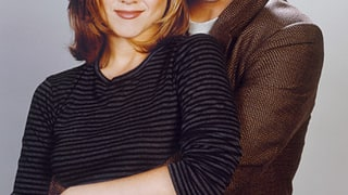 Rachel Green and Ross Geller