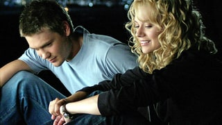 Lucas Scott and Peyton Sawyer