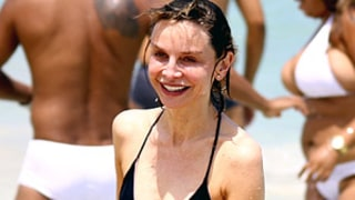 Calista Flockhart Shows Off Toned Bikini Body in Brazil With Harrison Ford