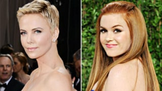 Charlize Theron Jokes to Isla Fisher at Oscars: I'm Going to Punch You in the Face!