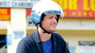 Jason Segel Smiles, Rides a Scooter in West Hollywood After Michelle Williams Split: Picture