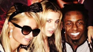 Paris Hilton Celebrates 32nd Birthday With Lil Wayne at Alice in Wonderland Themed Party