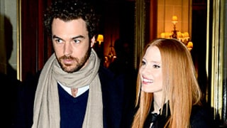 Jessica Chastain, Boyfriend Gian Luca Passi de Preposulo Make Rare Appearance Together in Paris: Picture
