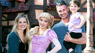 Sarah Michelle Gellar and Freddie Prinze Jr. Take Charlotte to Disneyland!