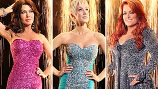 Lisa Vanderpump, Kellie Pickler and Wynonna Judd Rock Dancing With the Stars Costumes