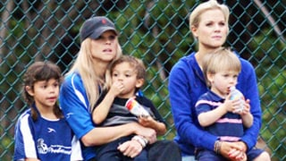 Elin Nordegren Coaches Soccer Game With Her Kids, Twin Sister as Tiger Woods, Lindsey Vonn Confirm Relationship: Pictures