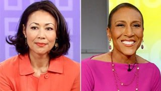 Ann Curry Was Forbidden to Publicly Comfort Ailing Robin Roberts: Report