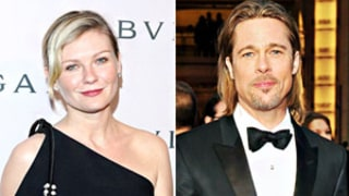 Kirsten Dunst: Kissing Brad Pitt Was