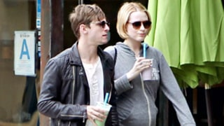 Evan Rachel Wood Shows Off Growing Baby Bump on Sunny Stroll With Husband Jamie Bell