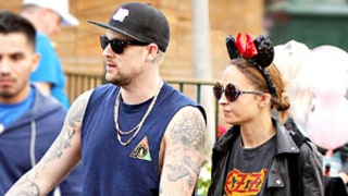 Nicole Richie, Husband Joel Madden Take Kids Harlow and Sparrow to Disneyland on Easter: Picture