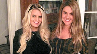 Jessica Simpson and BFF CaCee Cobb Show Off Matching Baby Bumps, Pregnancy Style: Picture