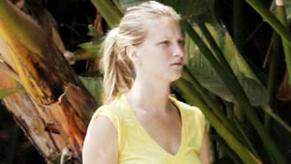 Heather Morris Debuts Tiny Baby Bump, Goes Makeup-Free in L.A.: Picture