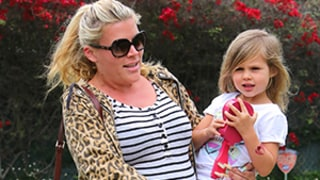 Busy Philipps Carries Daughter Birdie From Birthday Party, Shows Off Growing Baby Bump: Picture