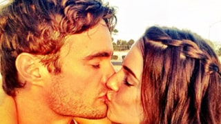 Jessica Lowndes Kisses Boyfriend Thom Evans in Romantic Instagram Picture
