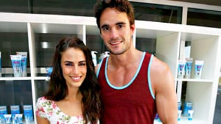 Jessica Lowndes Steps Out With Boyfriend Thom Evans at Coachella