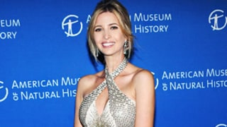 Ivanka Trump Debuts Tiny Baby Bump in Sexy Gold Gown at NYC Event