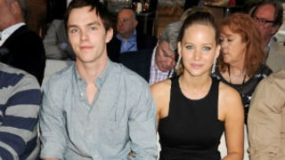 Jennifer Lawrence and Nicholas Hoult Have Romantic Dinner Date