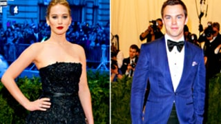 Jennifer Lawrence, Nicholas Hoult Arrive Separately at Met Gala, Actor Tells Us They're Just