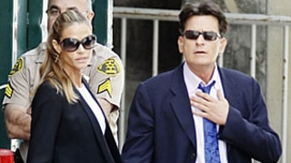 Charlie Sheen, Denise Richards Go to Court Over Custody of Brooke Mueller's Twins: Picture