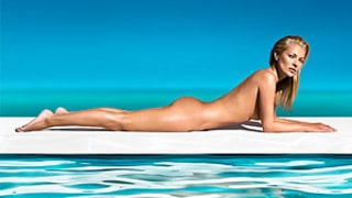 Kate Moss Goes Completely Naked for St. Tropez Ad