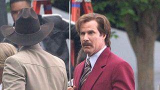 Anchorman 2 Films Epic Battle Scene Featuring Tina Fey, Amy Poehler, Kirsten Dunst and More!