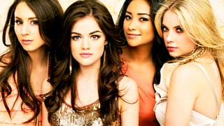 Troian Bellisario, Lucy Hale, Shay Mitchell and Ashley Benson