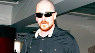Christian Bale Looks Unrecognizable With Bald Head