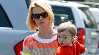 January Jones Talks About Xander's Father, Her Sexual Preference