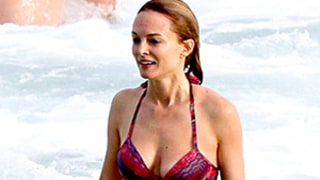 Heather Graham's Hot Bikini Body: Hangover III Costars Compete in Speedos