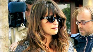 Penelope Cruz Emphasizes Big Baby Bump in Clingy Rolling Stones T-Shirt: Picture