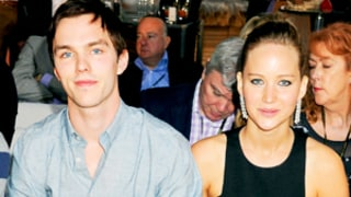 Exes Jennifer Lawrence and Nicholas Hoult Spend Time Together Off Set of 'X-Men'