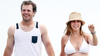 Jamie-Lynn Sigler Rocks Bikini Body at Beach With Fiance Cutter Dykstra