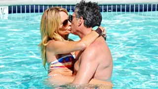 Taylor Armstrong Wears Thong Bikini, Makes Out With Boyfriend