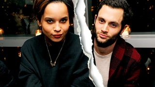 Penn Badgley and Zoe Kravitz