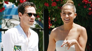 Jennifer Lopez, Marc Anthony Reunite for Kids' School Event: Pictures