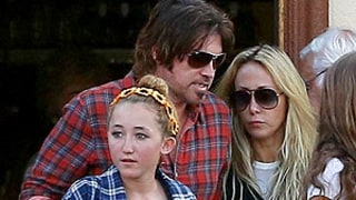 Miley Cyrus' Parents Billy Ray, Tish Cyrus Reunite for Family Lunch: Picture