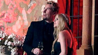 Avril Lavigne Wears Black Wedding Dress, Watches Fireworks With Chad Kroeger: Picture