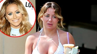 Aubrey O'Day Goes Without Makeup, Looks Unrecognizable in Maui