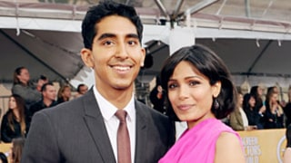 Freida Pinto Makes Dev Patel Watch Himself on The Newsroom