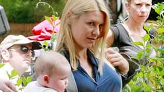 Claire Danes Brings Infant Son Cyrus to Homeland Set: Picture