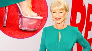 Helen Mirren, 67, Wears 6-Inch Stripper Heels to Red 2 Premiere!