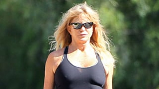 Goldie Hawn, 67, Shows Off Fit Figure in Workout Gear: Picture